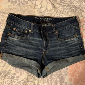 "American Eagle ""shortie"" shorts"